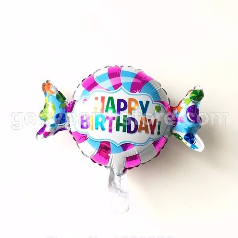 CANDY BIRTHDAY MINI FOIL