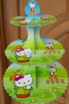 TIERS CUPCAKES HELLO KITTY (3 SUSUN)